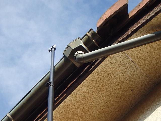 高所カメラの使用(屋根点検)