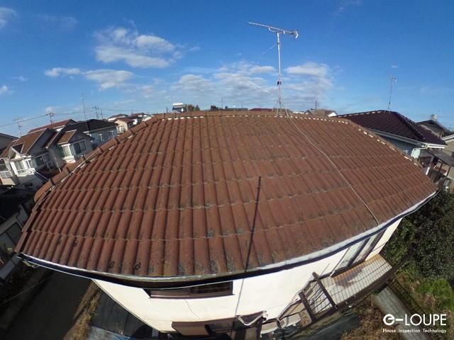 屋根調査画像