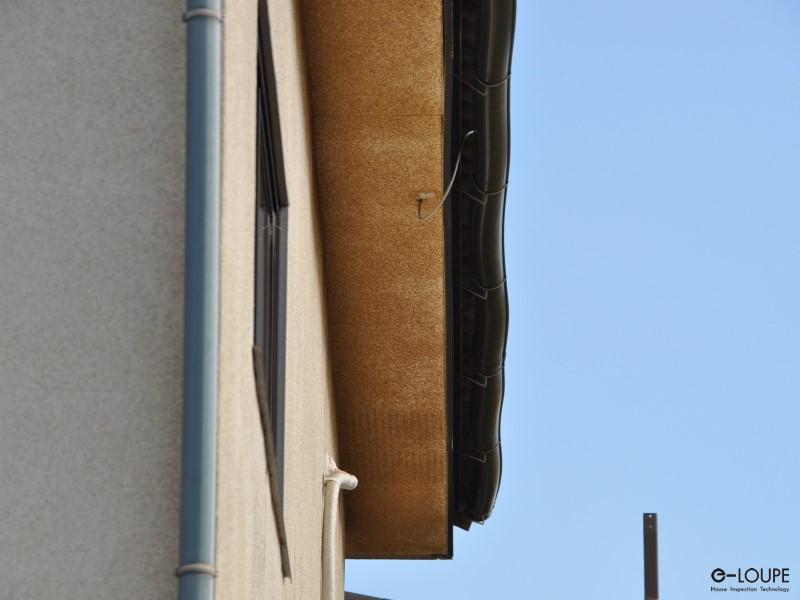 軒裏と雨樋の点検
