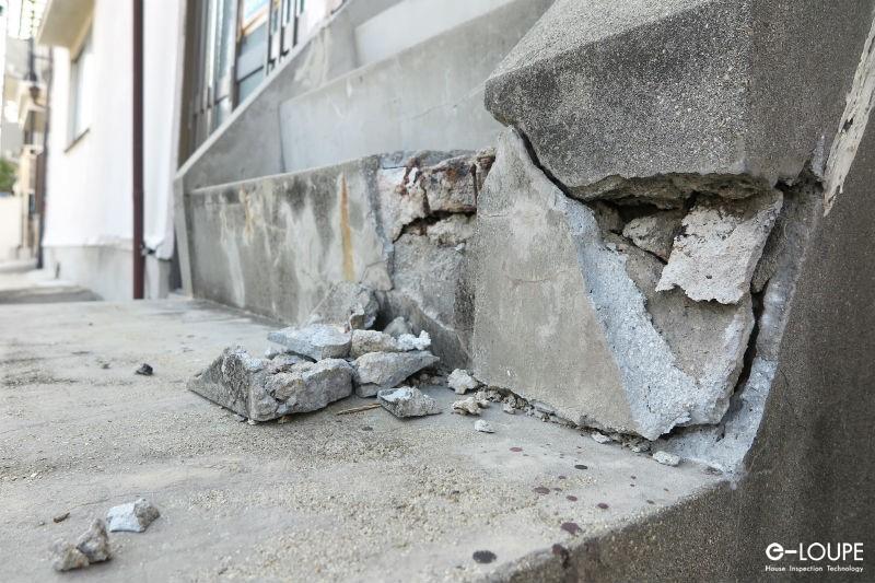 地震被害イメージ