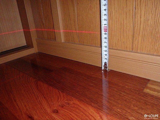 レーザーレベルの測定2