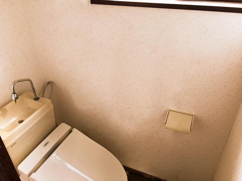 トイレのインスペクション
