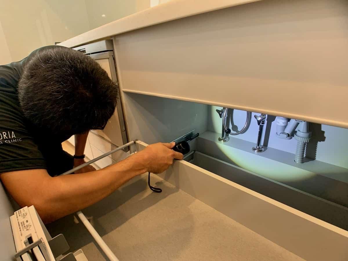 台所の排水管
